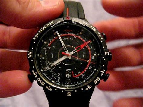 Rockx Silver Tide 1 Tx timex e instruments tide temp compass review