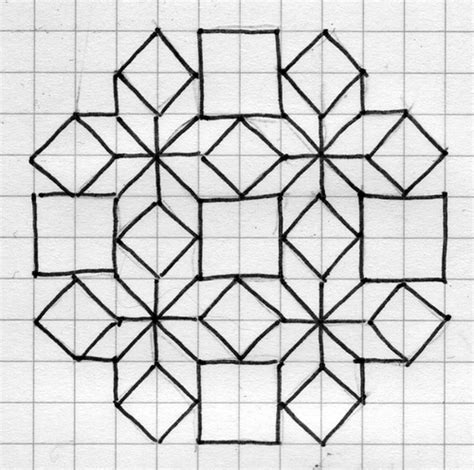 islamic pattern grid geometric pattern patterns pinterest patterns