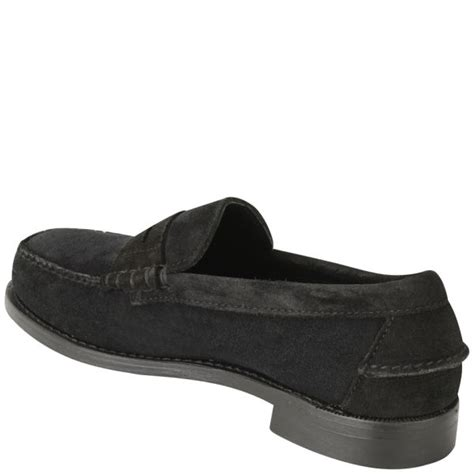 black suede mens loafers sebago s classic suede loafers black suede free uk