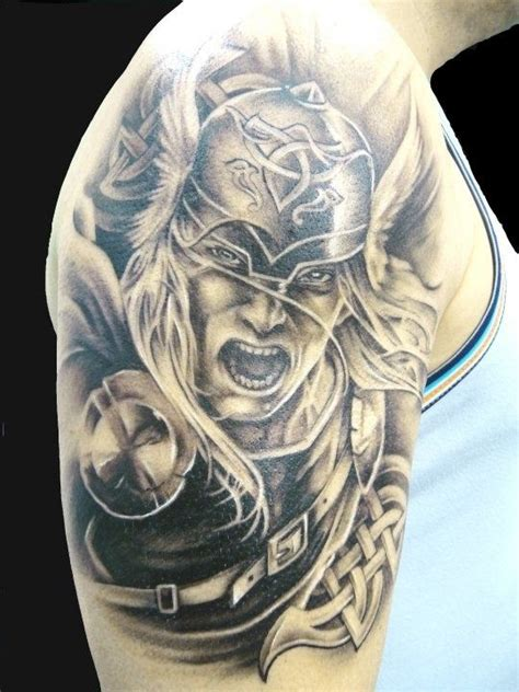 25 beautiful viking tribal tattoos ideas on collection of 25 grey ink sleeve viking warrior