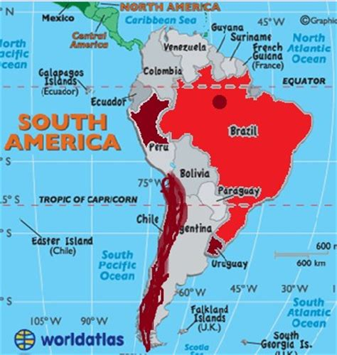 american bodies of water map bodies of water of brazil