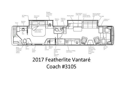 prevost floor plans 2017 featherlite prevost quot monterosso quot featherlite prevost