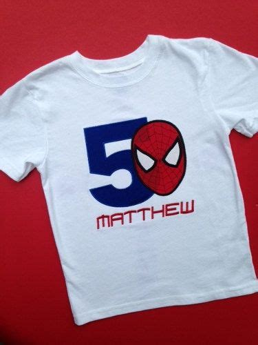 Spider Shirt Shirt For Birthday Best 25 Shirt Ideas On And 1