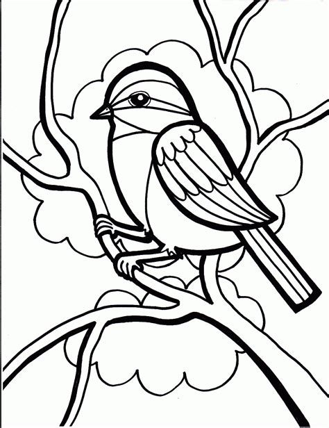printable coloring pages for kids free 2014 sparrow coloring pages for kids to color in