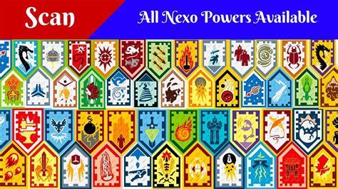 Auto Logo 3 Schildjes by All Lego Nexo Powers Nexo Shield Scan And Enjoy