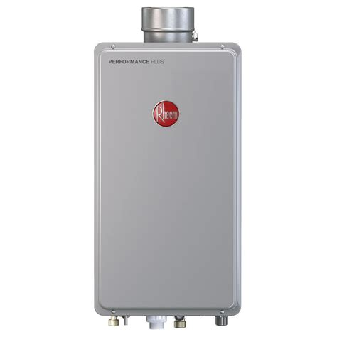 Water Heater Gas Niko rheem performance plus 8 4 gpm liquid propane mid efficiency indoor tankless water heater