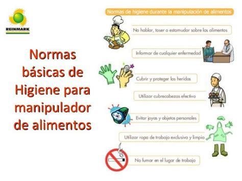 normas basicas de higiene  manipulador de alimentos alimentos food safety nutrition  food