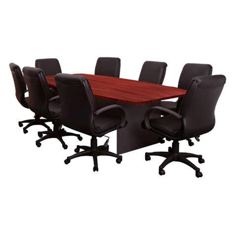 principal executive boat shaped meeting table office