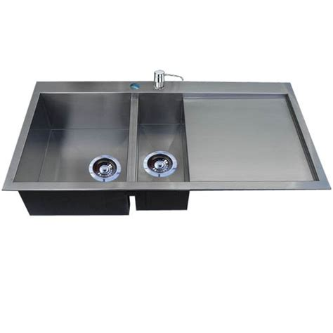 grand handmade stainless steel kitchen sink