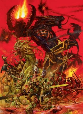 warhammer 40000 chaos gods characters tv tropes