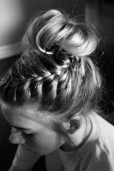 bun hairstyles gone wrong 17 best images about braided hairstyles on pinterest