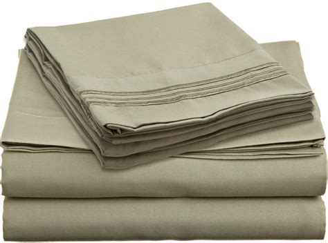 coolest sheets california king 1800 thread count sheet set