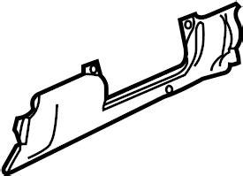 Mud Guard Shark Power Brecket Kiri Kana volkswagen golf instrument panel knee bolster w o r32 1j1880499c union city ga
