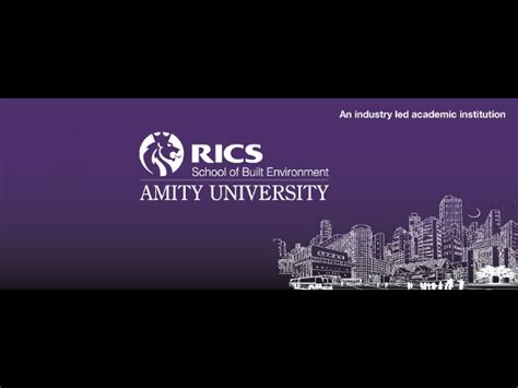Mba In Construction Management Amity rics school at amity announces mba admissions