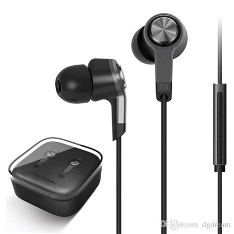 Headset Earphone R 399 Xiaomi Piston 2 in ear stereo earphones xiaomi mi5 piston 3 simple edition earphone with mic remote