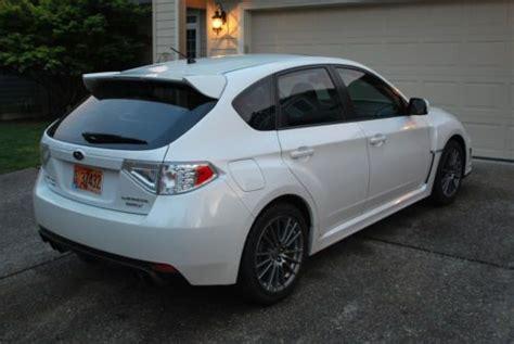 white subaru hatchback find used 2014 subaru white wrx hatchback premium package
