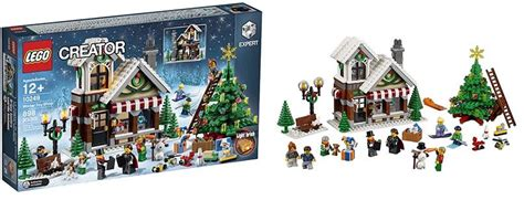 Lego Winter Shop Creator 10249 lego 10249 winter shop i brick city
