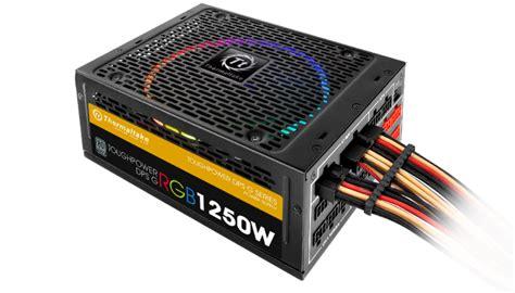 Psu Led thermaltake announces world s led rgb 256 colors