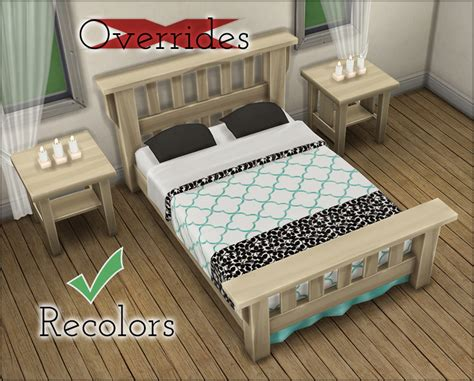 mod 4 sims bed mod the sims 16 colorful quot single mission bed quot stand