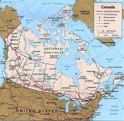 map of canada and northern us map of northern us and canada