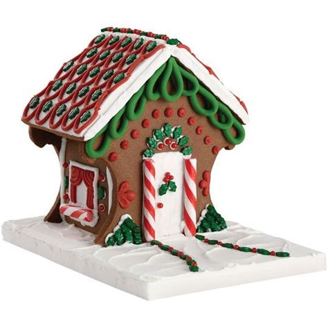 where to buy pre made gingerbread houses buy the wilton 174 pre baked pre assembled chocolate cookie gingerbread house kit at