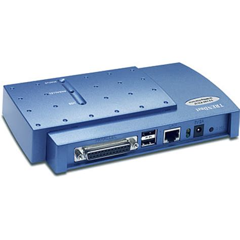 print server parallel trendnet products te100 p2u1p 10 100mbps print