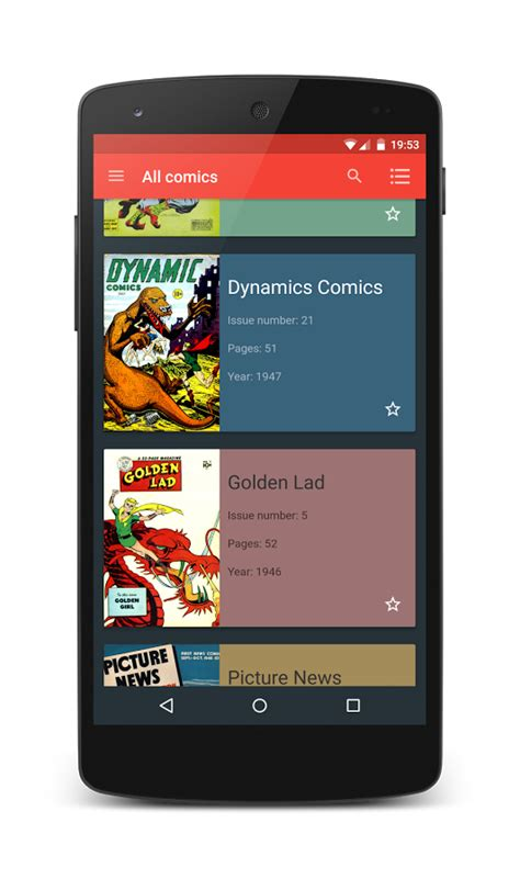 cbr reader android material comic viewer free android apps on play