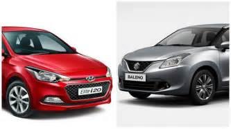 Maruti Suzuki I20 Price New Maruti Baleno Vs Hyundai Elite I20 Comparison