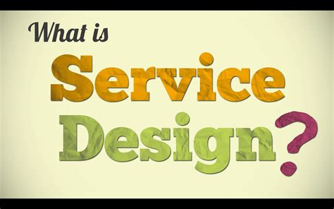 service design thinking youtube what is service design youtube