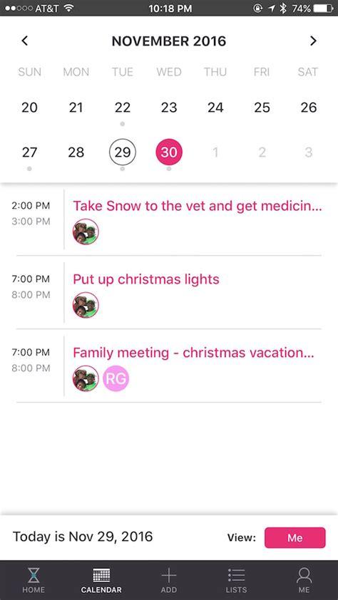 Family Calendar App Family Calendar How Curago Calendar App Organizes Our