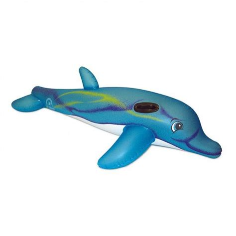 aquafun dolphin super jumbo rider swimming pool toy
