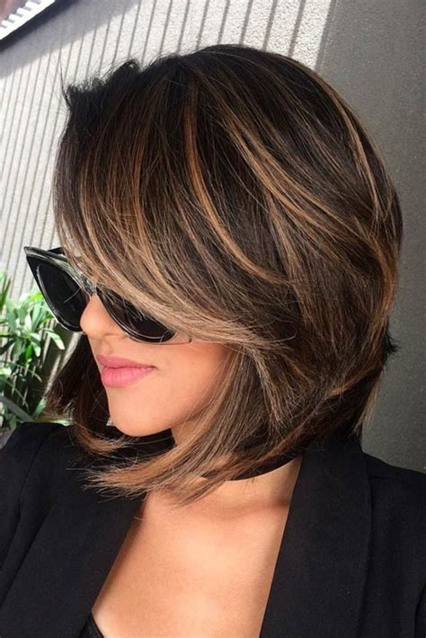 pictures of blonde highlights on medium brown short hair onpinerest highlights for short hair trend short hair shorts and