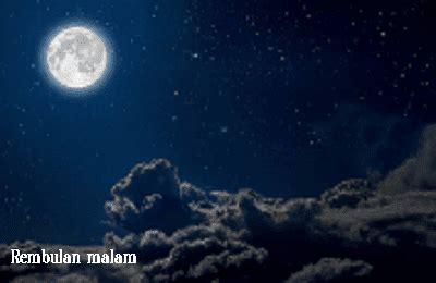 kumpulan puisi bulan tentang kata kata rembulan malam
