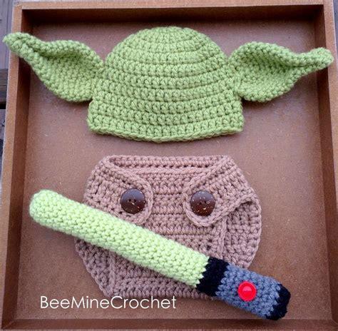 infant pattern video newborn crochet yoda outfit baby pattern by beeminecrochet