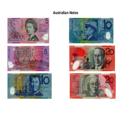 printable fake money australia 6 play money templates psd pdf free premium templates