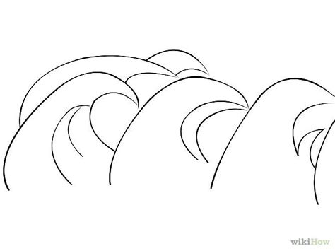 basic simple wave symbol drawing ideas simple wave drawings www imgkid the image kid has it