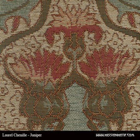 Mission Upholstery Fabric by Laurel Chenille Juniper Deluxe Fabric Archive Edition