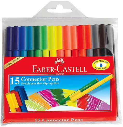 sketchbook faber castell buy faber castell faber castell connector pens pack of 15