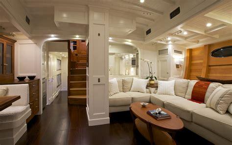 catamaran ferry interior bequia yacht interior photo credit to langley