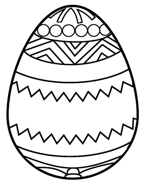 coloring book easter eggs blank easter egg template printable kiddo shelter