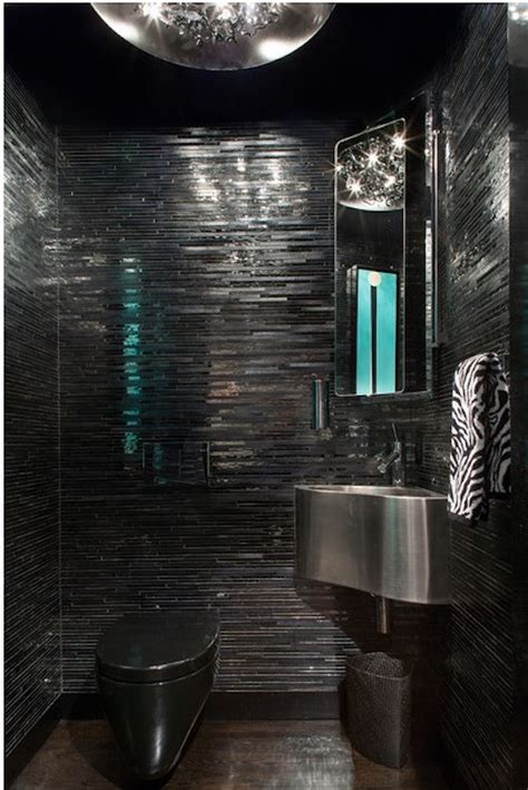 Modern Black Bathroom 15 Bold And Beautiful Black Bathroom Design Ideas Evercoolhomes