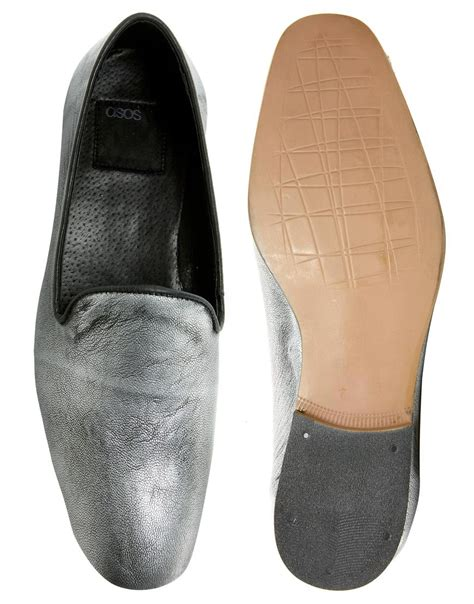 zebra loafers asos loafers with zebra print in black for zebra lyst