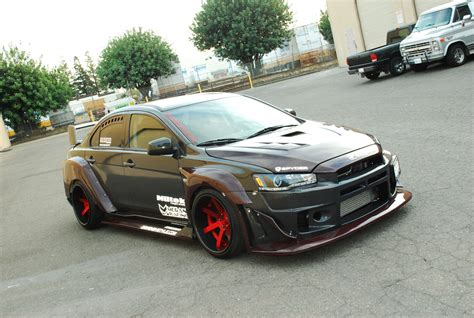 widebody evo craig flango s 2008 mitsubishi evo x wide driven by