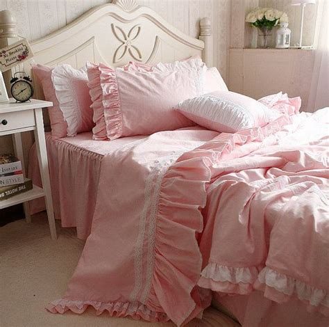 light pink comforter twin shabby girls pink bedding in vintage light pink bedding