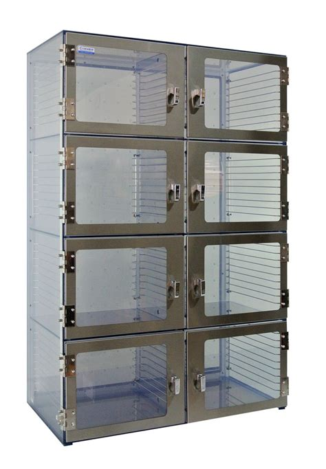 Desiccator Cabinet by Eight Door Wafer Desiccator Cabinet Clear Acrylic 53x25x48
