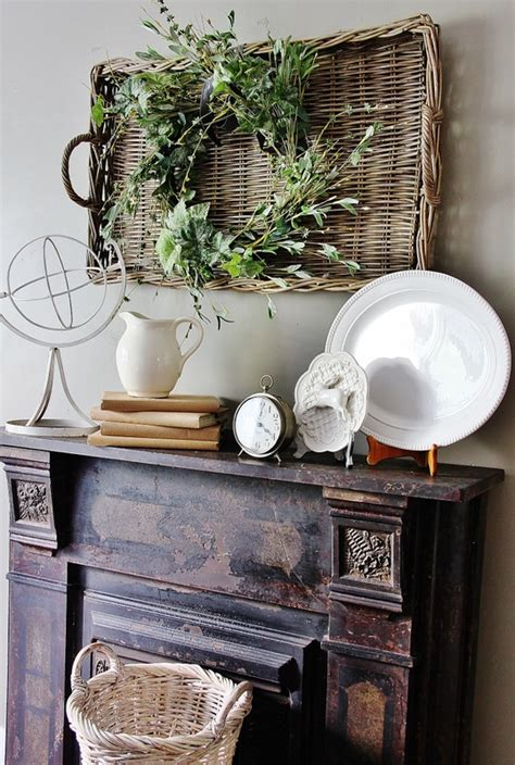 How To Decorate A Mantel by Mantel Decorating Ideas Thistlewood Farm