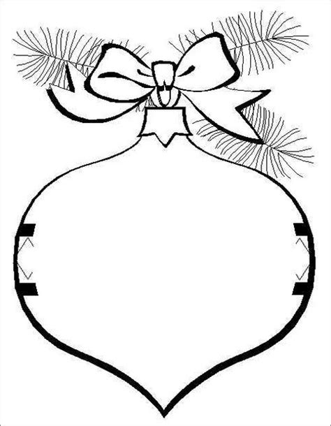 christmas ball ornament coloring page jesse tree ornaments coloring pages