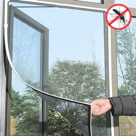 mosquito net door curtain diy insect fly bug mosquito net door window net netting