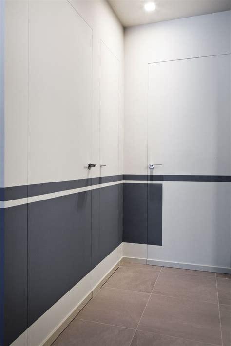 porta raso parete porta di design in legno a raso parete invisibile su