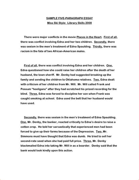 How To Write A Paragraph Essay by 8 1 Paragraph Essay Format Basic Appication Letter